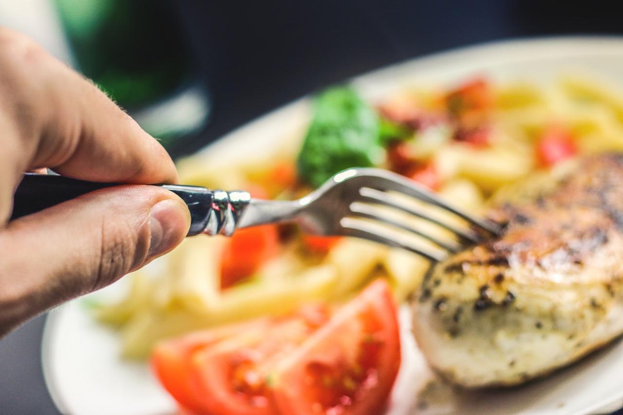 afvallen door minder te eten